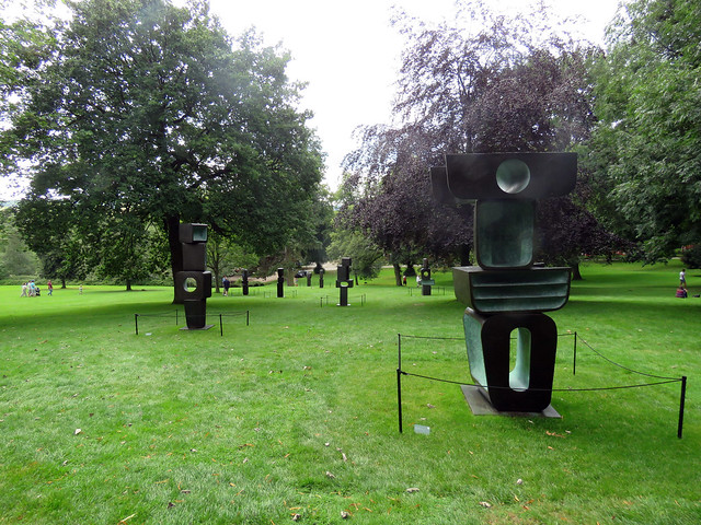 The Family of Man by Barbara Hepworth - Yorkshire Sculpture Park, August 2019