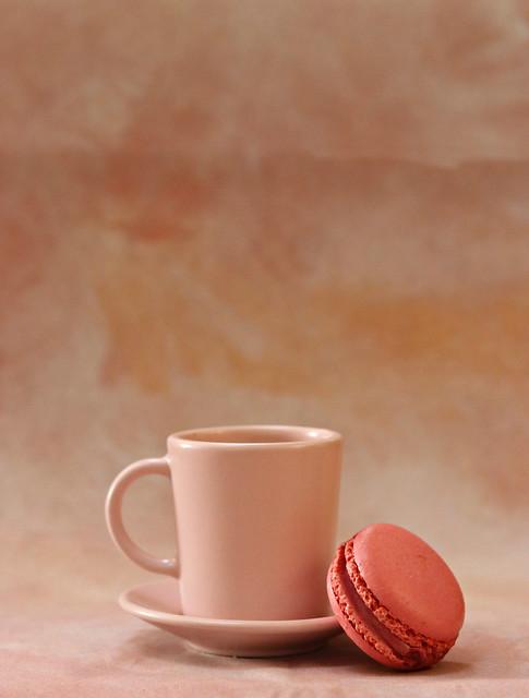 2019 Sydney: Coffee + Raspberry Macaron