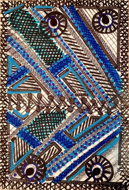 אמנות ישראלית ציורים ורישומים אקספרסיביים צבעוניים מירית בן נון