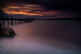 Last Light over the Jetty