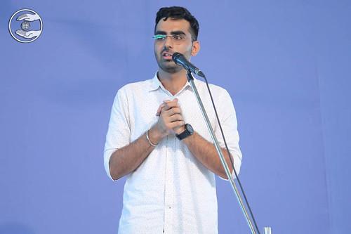 Speech by Ehsas Bajaj from Bangalore