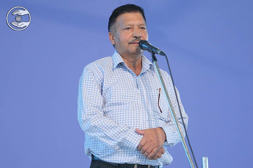 Speech by Madhan Nand Sharma
