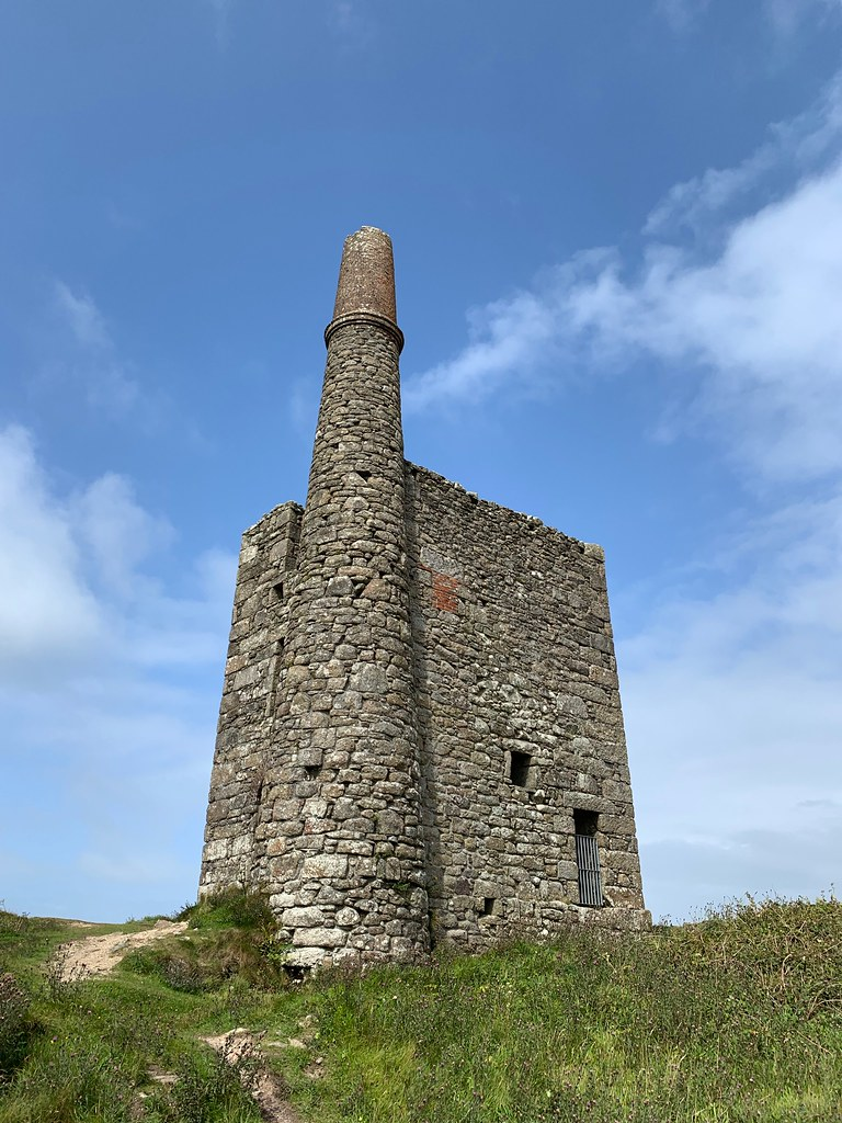 Greenburrow pumping house, Ding Dong mine, Cornwall