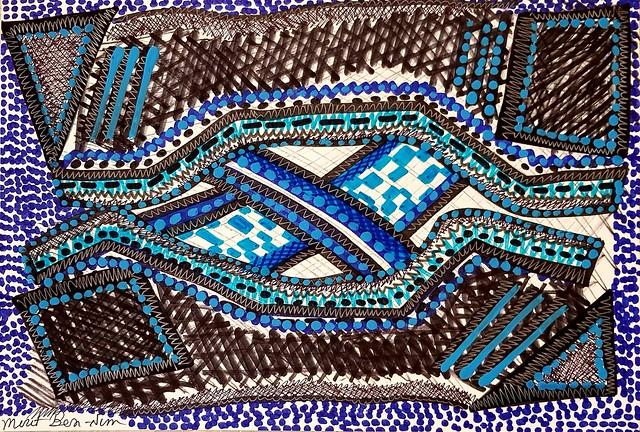 אמנות ישראלית רישומים וציורים צבעוניים מירית בן נון ציירת עכשווית