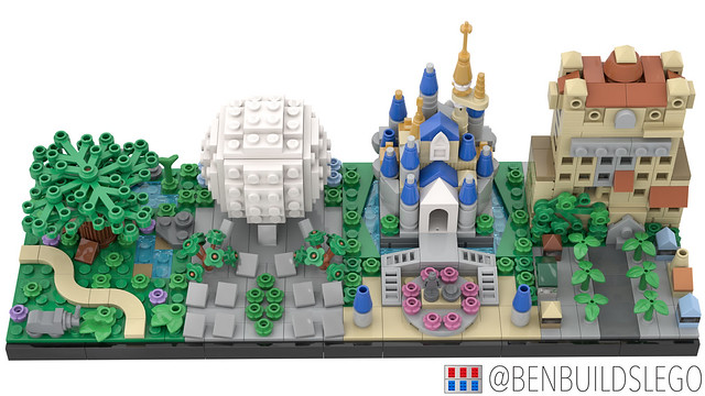 Lego Disney World Skyline (4)