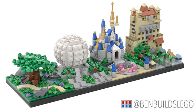 Lego Disney World Skyline (3)