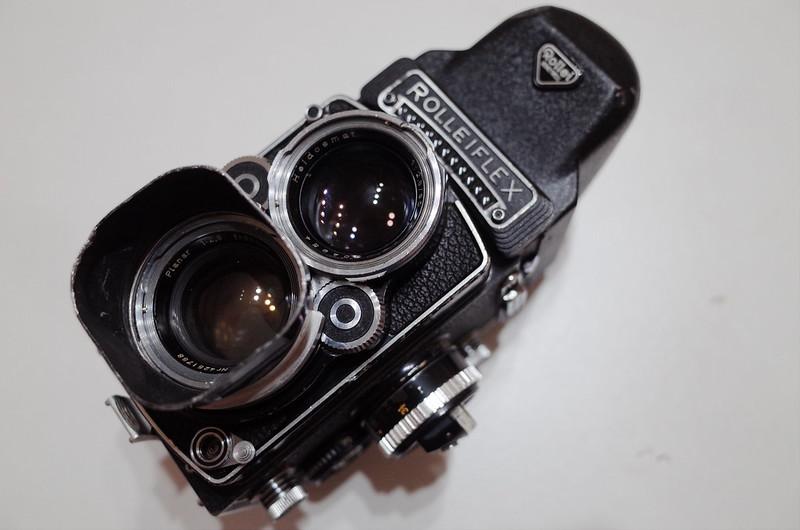 Rolleiflex 2 8F Carl Zeiss Planar 80mm F2