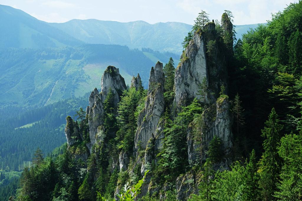 Hiking to Sokolie, Little Fatra, Slovakia