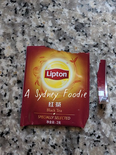 Teabag wrapper