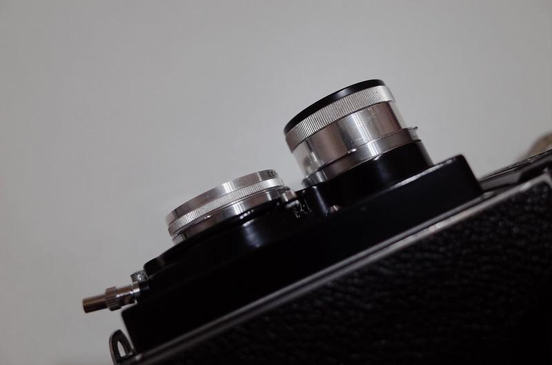 RolleicordⅣ+Schneider Xenar+Rolleinar BAY 1 3ビューレンズ+テイクレンズ横