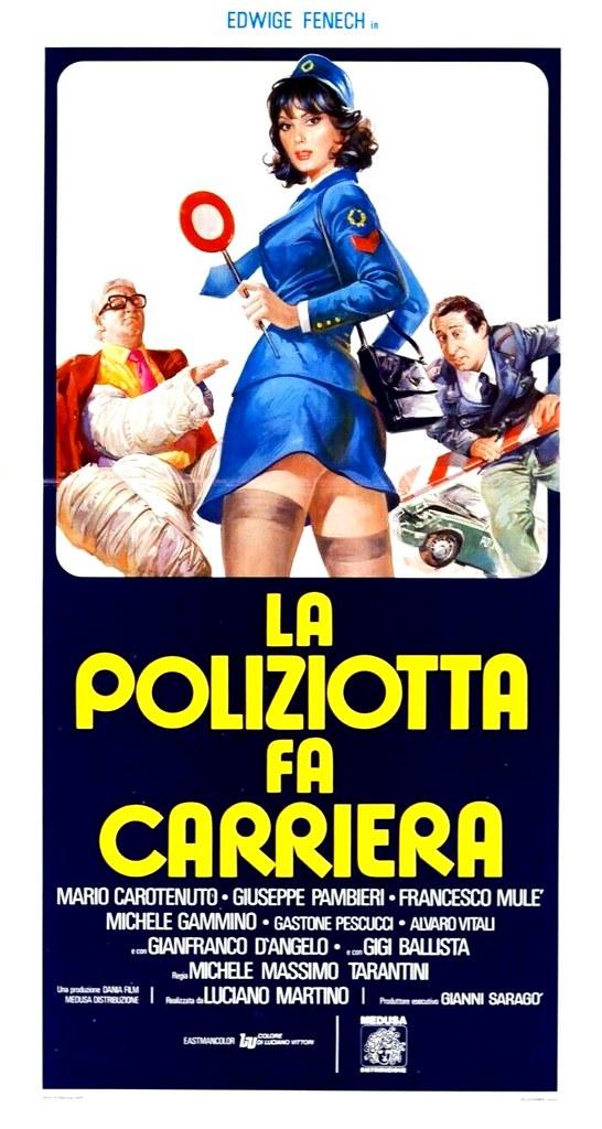 la poliziotta fa carriera