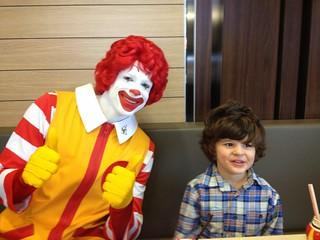 Meeting Ronald McDonald