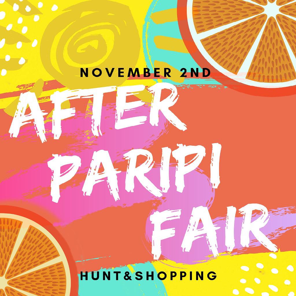 AFTER PARIPI FAIR ~ Designer Invitation ~