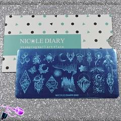 Placa Nicole Diary - 090