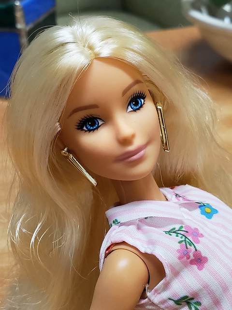 Classic Barbie Loveliness.  To me, this is a Happy 60th doll, because she captures the everyday Barbie.