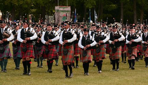 Bagpipers ... Les écossais