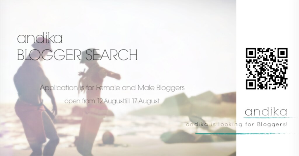 andika blogger search
