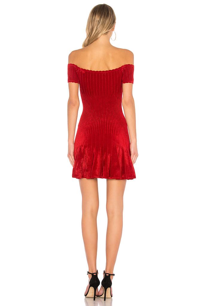 Indexbild 2 - Ronny Kobo Womens Karin Dress Slim Red Size S