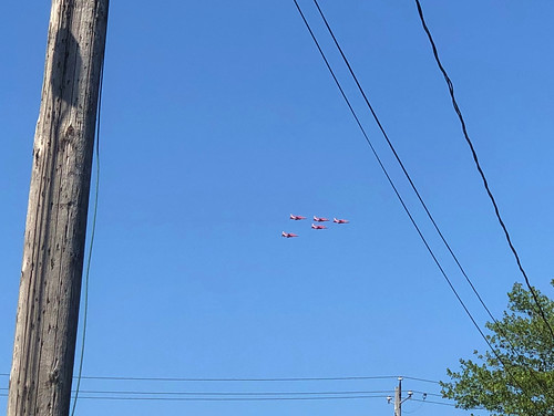 RAF Red Arrows over Halifax