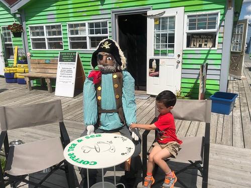 Ezra and a Pirate