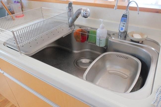 立つ洗い桶のサイズ