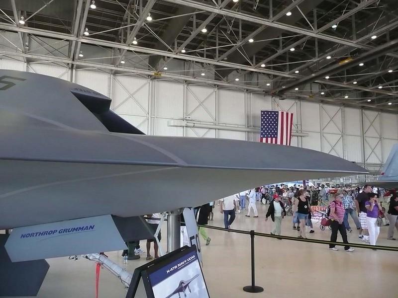 Northrop Grumman X-47B UCAS-D 00008
