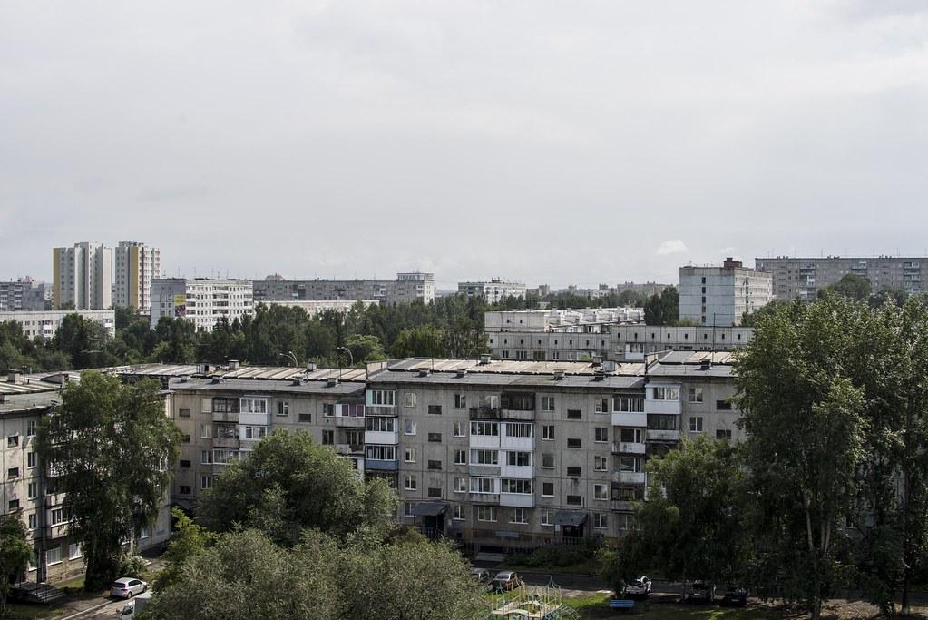 Крыши Ленинского района.
