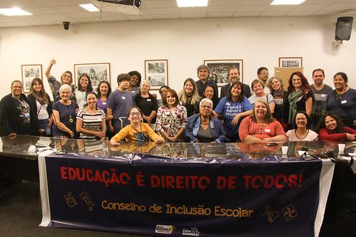 Lançamento Conselho de Inclusão Escolar