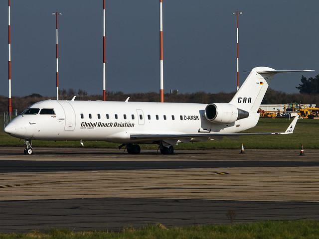 Global Reach Aviation | Bombardier CRJ-200LR | D-ANSK