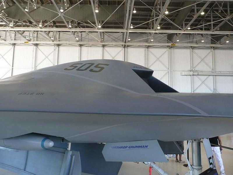 Northrop Grumman X-47B UCAS-D 00007