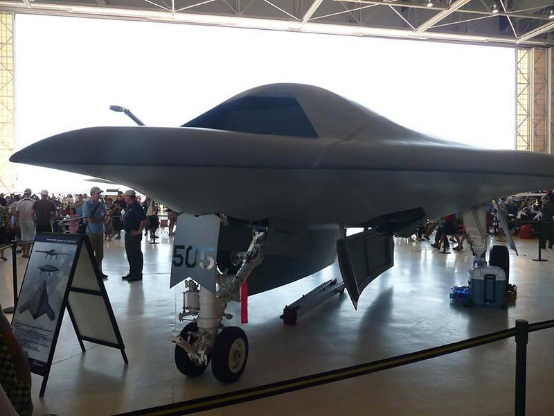 Northrop Grumman X-47B UCAS-D 00001