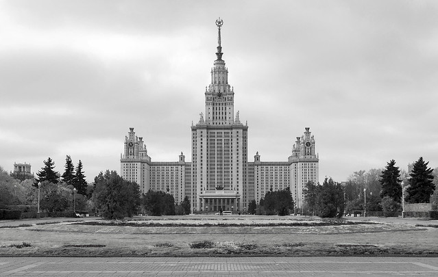 Moscow State University (MGU), Sparrow Hills, Moscow, Russia