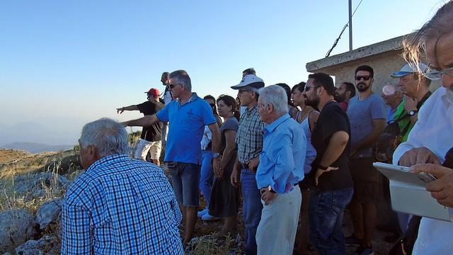 Ιστορικό περίπατο στο Βουνί Εγκλουβής  διοργάνωσε η ΚΝΕ Λευκάδας