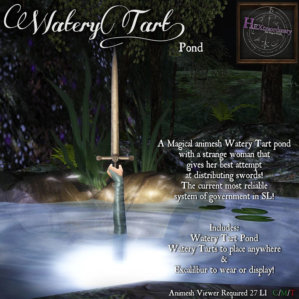 Watery Tart Poster v4