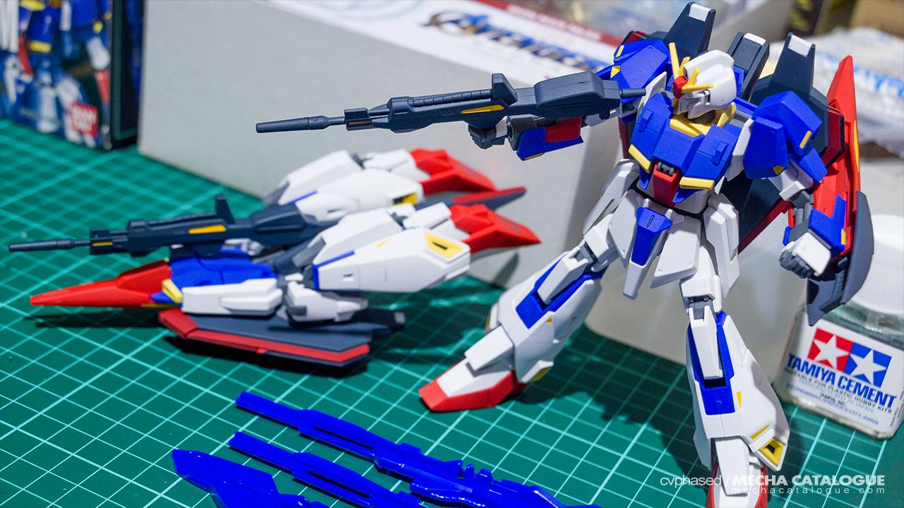 Work-in-Progress... After Two Years! HGUC Zeta Gundam (2003)