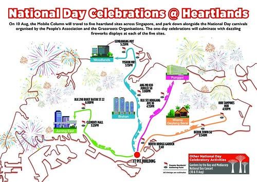 2019 NDP Mobile Column at Heartlands Map