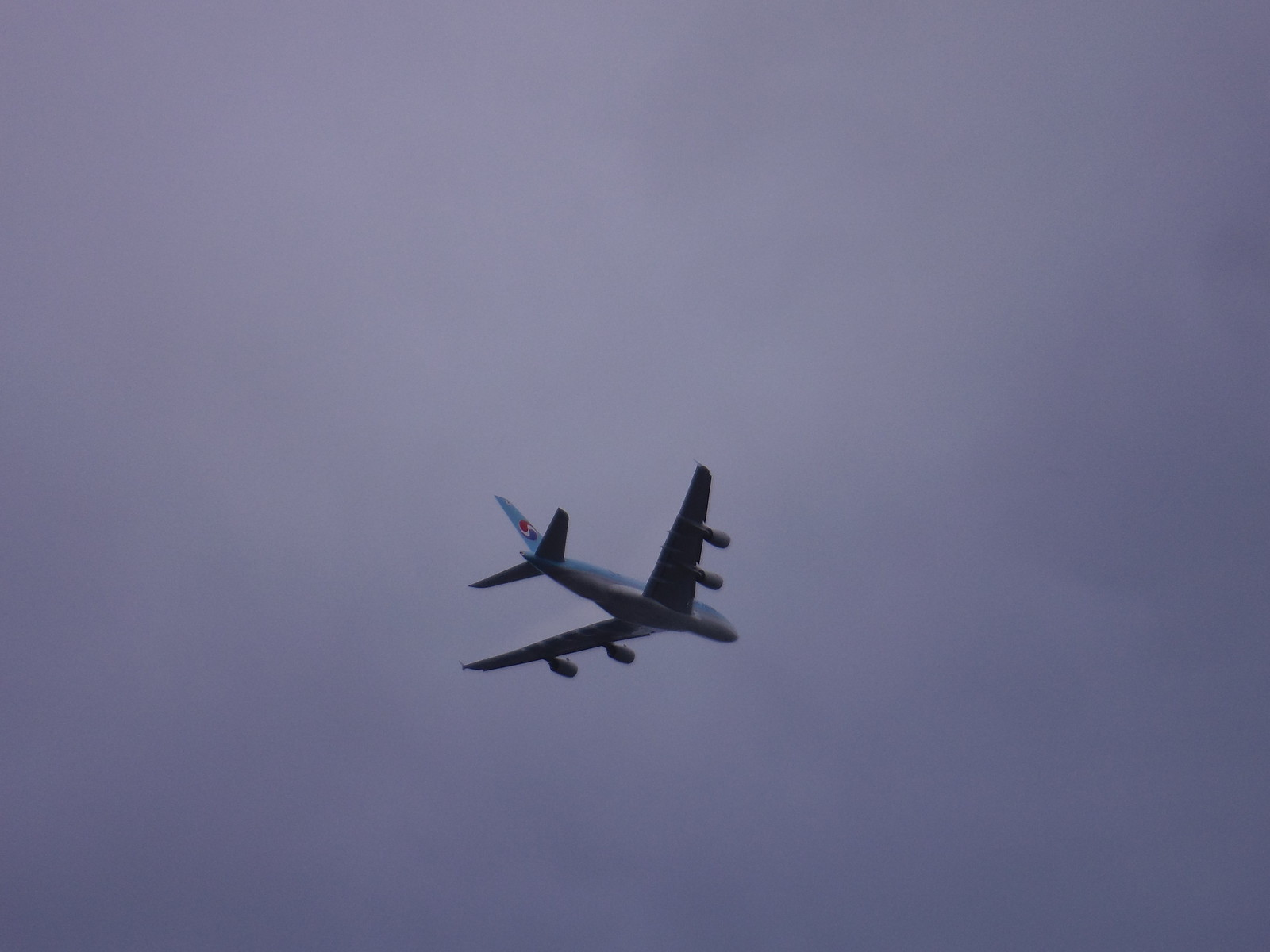 Under the Heathrow flightpath (Korean Air?) SWC Short Walk 22 - Boston Manor to Osterley