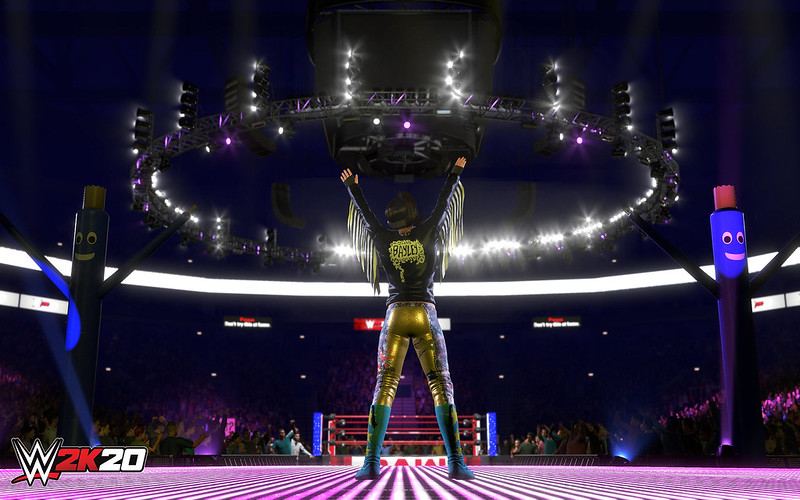 WWE 2K20 on PS4
