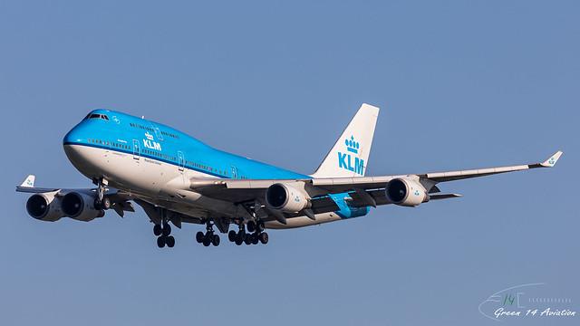 KLM B747