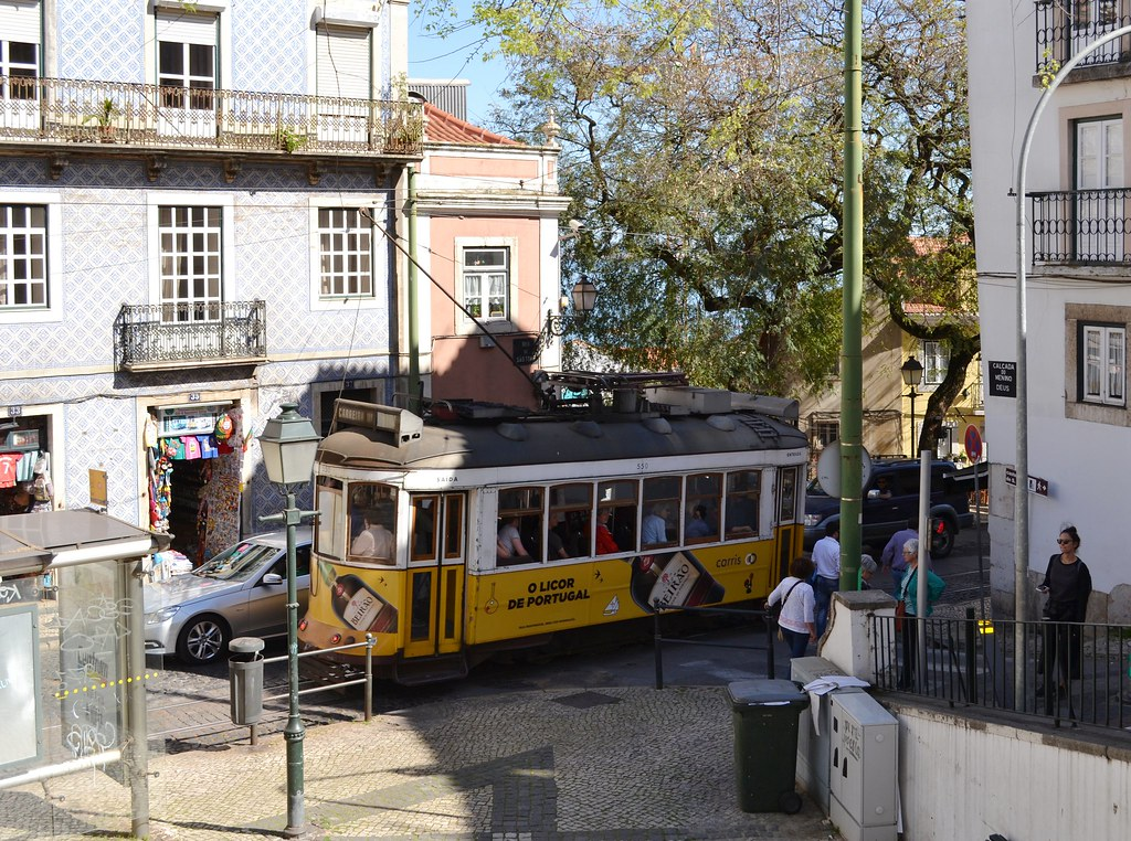 Tramway Lisbon / Tram Lissabon