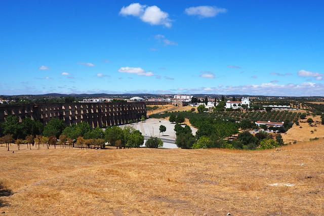 Elvas Aquaduct, Elvas, Alentejo, Portugal