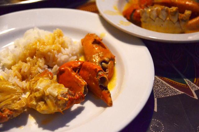 African meal, Lisbon