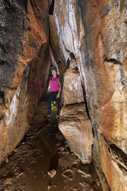 Leanne Lipps, Cumberland Cove Cave, Putnam County, Tennessee 1