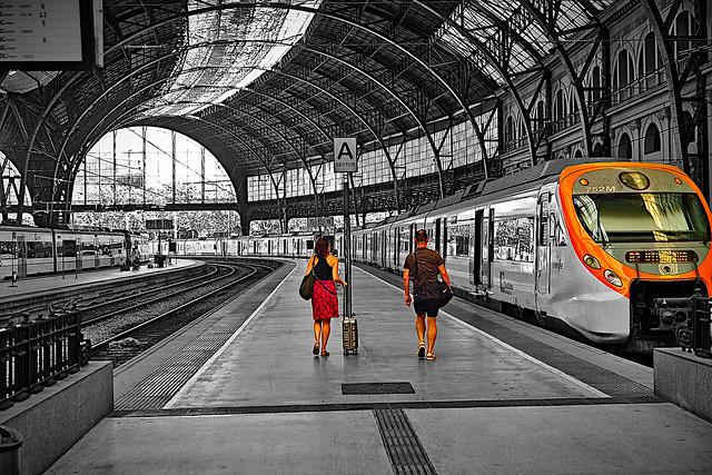 A la Estació de França