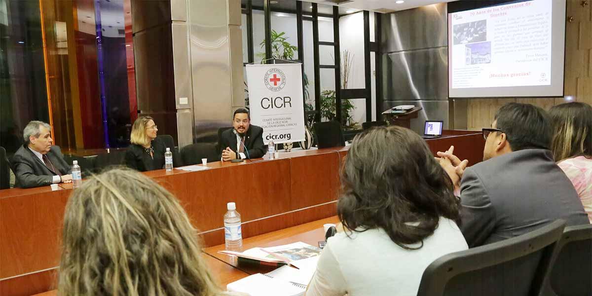 Comité Internacional de la Cruz Roja resalta importancia sobre el Derecho Internacional Humanitario