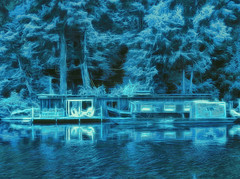 """Blue boats"""