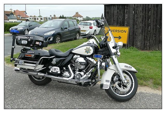 Harley-Davidson Police Motorcycle