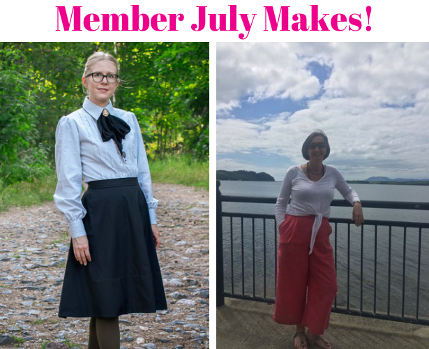 Burda Challenge 2019 July MEMBER MAKES 1