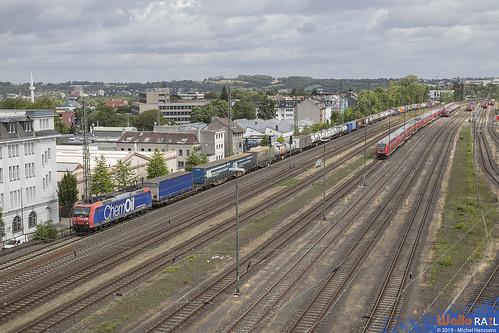 Re 482 012 . SBB Cargo . 40070 . Aachen Rothe Erde . 10.08.19.
