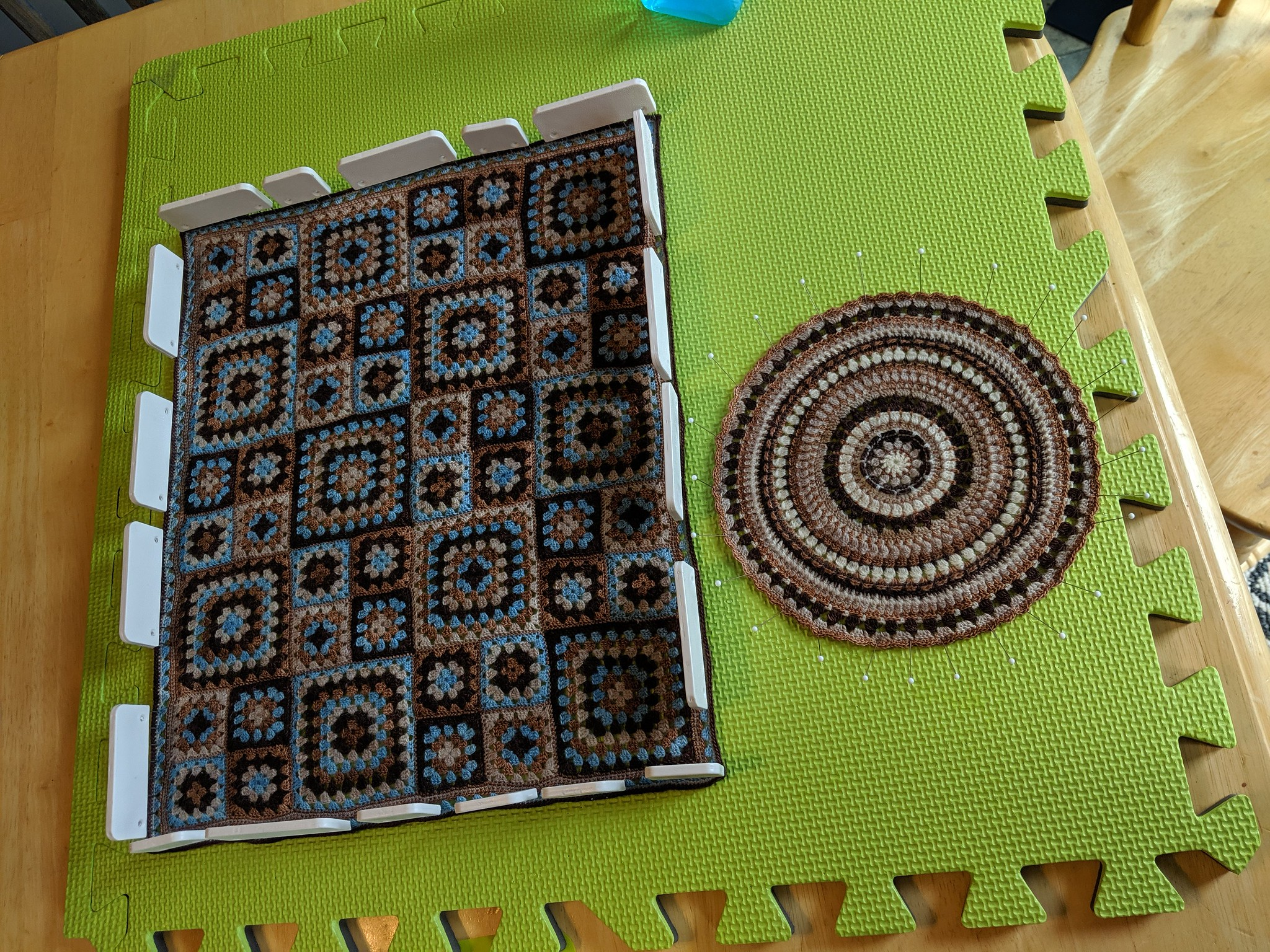 what's on my blocking pad